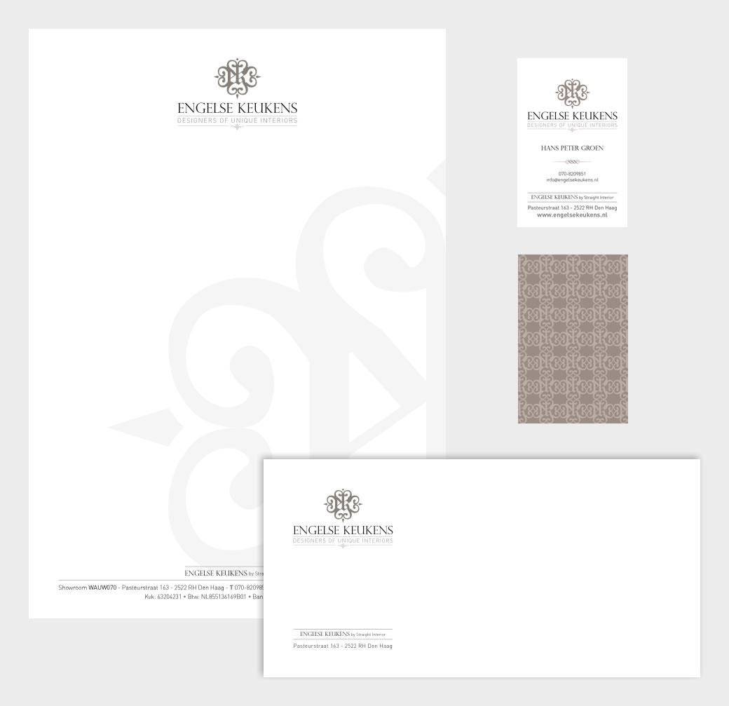 Corporate identity - letterhead, business card and envelope